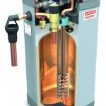 What is the recovery time for an electric water heater?