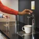 Instant boiling water in offices
