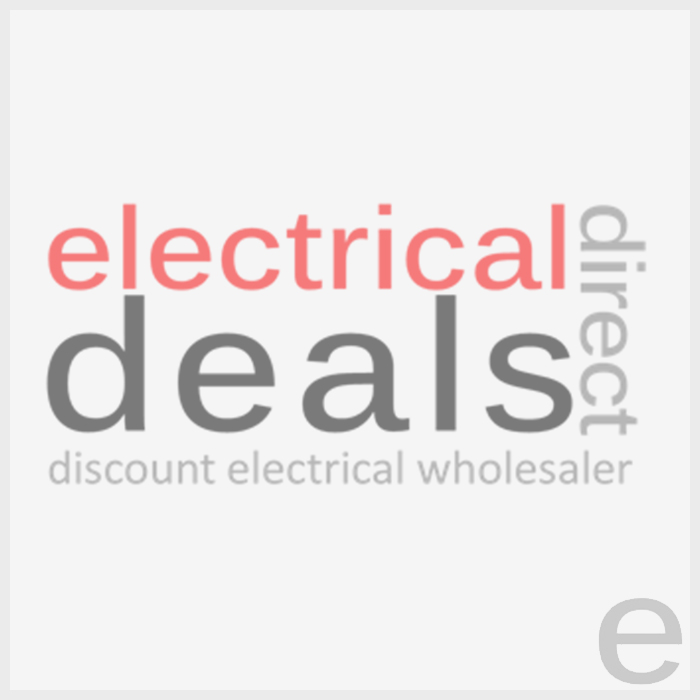 Buffalo Large Single Contact Grill Ribbed Top L530