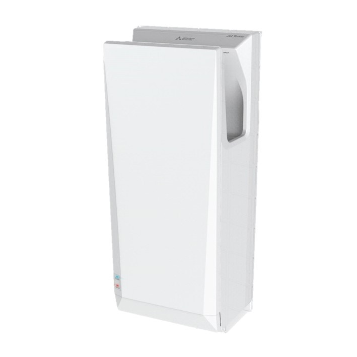 mitsubishi jet towel slim hand dryer white jt sb216jsh2 w ne. Black Bedroom Furniture Sets. Home Design Ideas