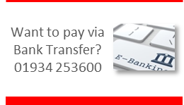 Pay via Bank Transfer