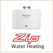 zip electric water heating