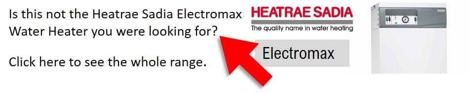 Heatrae Sadia Electromax combi boilers