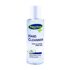AquaSan Hand Cleanser MHHC100 100ml Alcohol Based Hand Sanitisers 12 per box