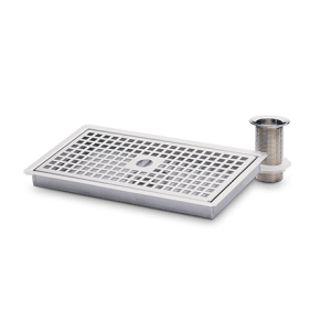 Heatrae Sadia Supreme Stainless Steel Drip Tray with Waste 95970123