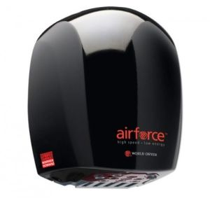 Warner Howard Airforce Hand Dryer J48-162 - Black BC0325