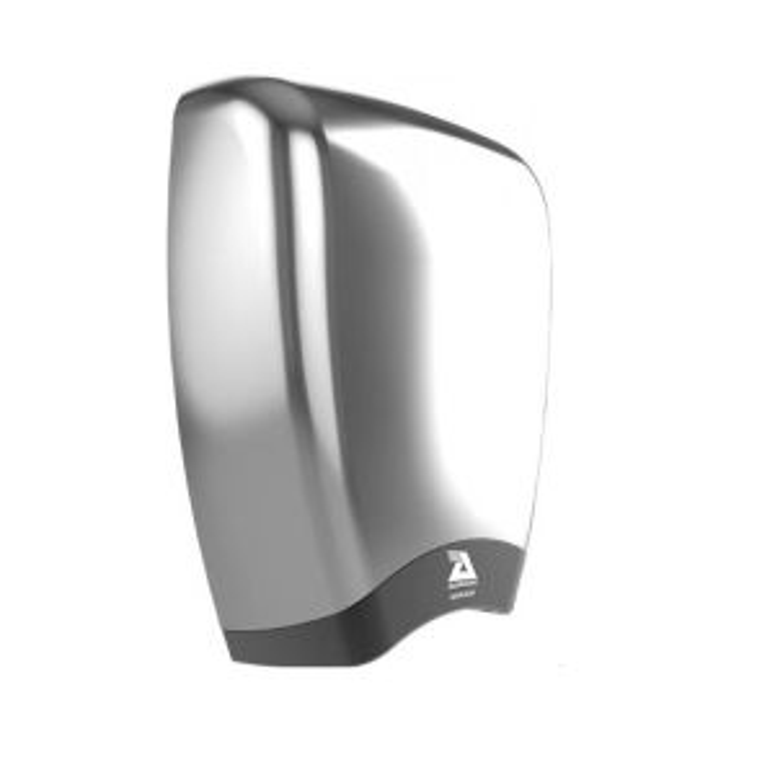 Airdri Quazar Hand Dryer Brushed Steel