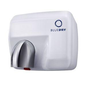 Blue Dry Blue Storm White Metal Hand Dryer HD-BD1004W