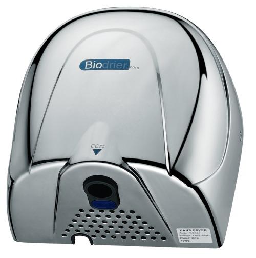 Biodrier Eco BE08C hand dryer chrome