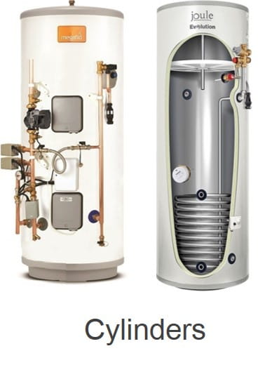 Electric hot water cylinders