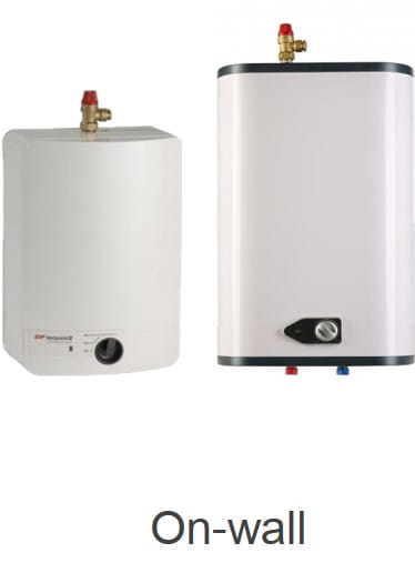 Small electric water heaters