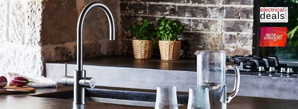 Zip steaming boiling water taps