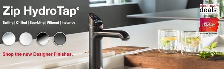 Zip hydrotaps boiling water taps