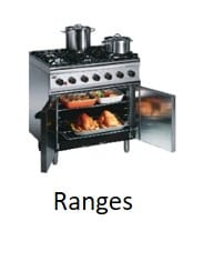 Commercial Cooking Ranges