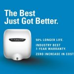 Xlerator Hand Dryers Warranty Change